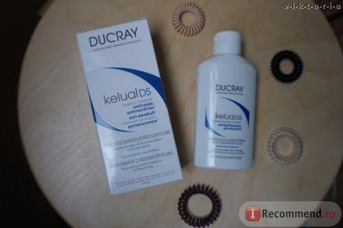 Шампунь от перхоти и зуда головы Ducray Kelual DS фото