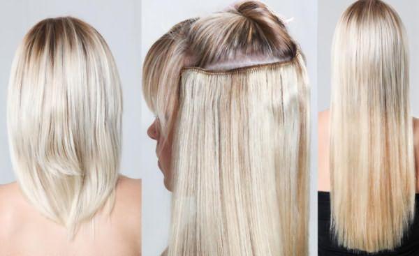 Результат использования натуральных волос на заколках