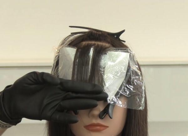 как сделать пиксельное окрашивание волос 3