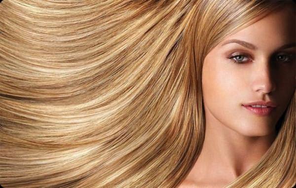 Мягкое окрашивание волос