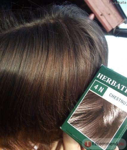 Здесь порыжевшие и отросшие за шесть месяцев после первого окрашивания волосы