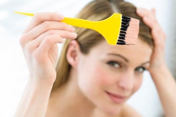 кормление грудью и покраска волос