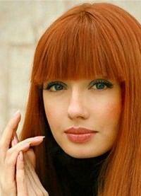 рыжие волосы зеленые глаза 2