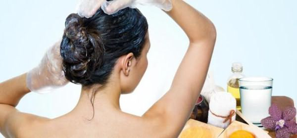 маски против выпадения волос с маслами