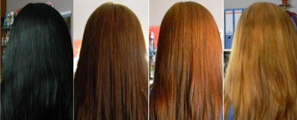 Как вывести черный цвет волос в домашних условиях 16