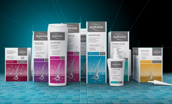 Препараты для восстановления роста волос Алерана