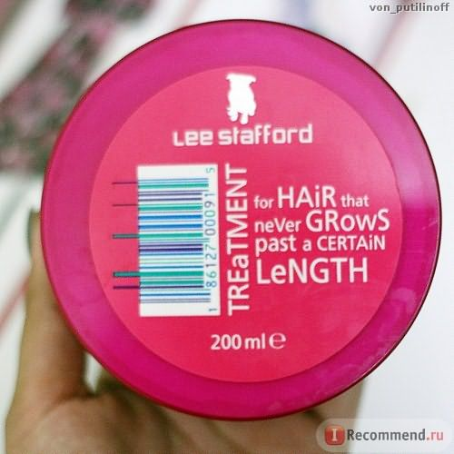 Активатор роста волос Lee Stafford hair growth treatment фото