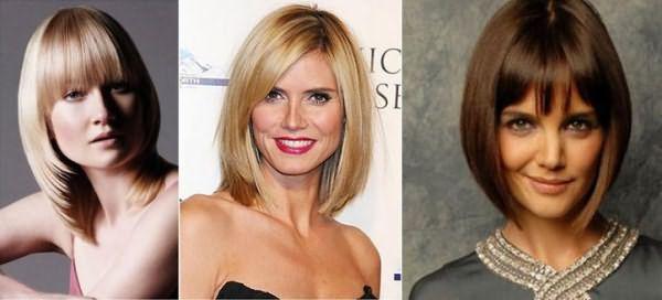 Стрижки которые делают женщину моложе фото до и после