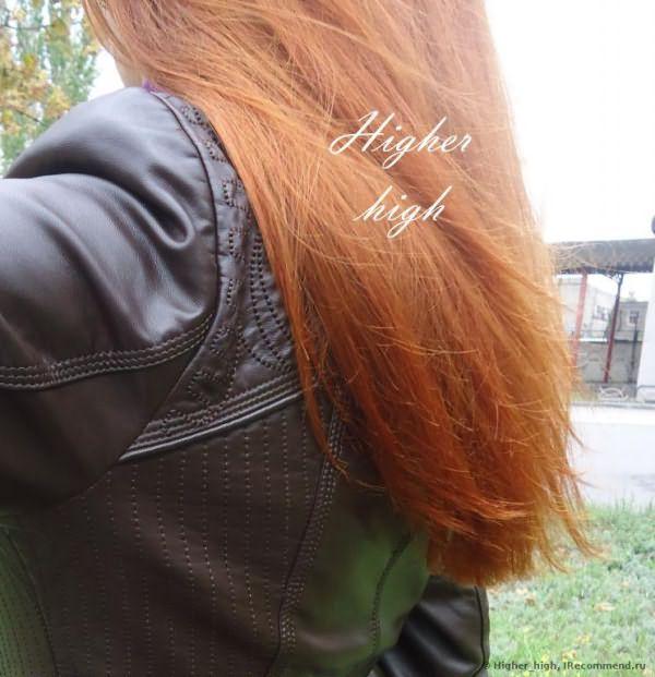 Кончики волос (не стригла 8 месяцев)
