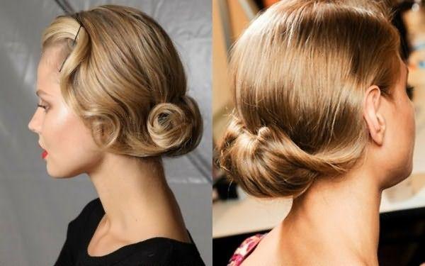 Оригинальные и строгие прически на средние волосы