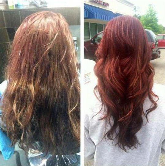 стойкая профессиональная краска для волос