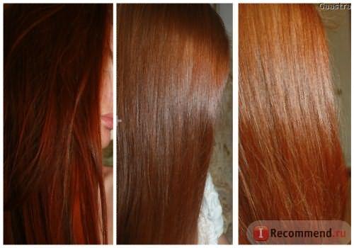 Окраска хной осветленных чуть-чуть волос, 2 фото - как хна вымылась за неделю