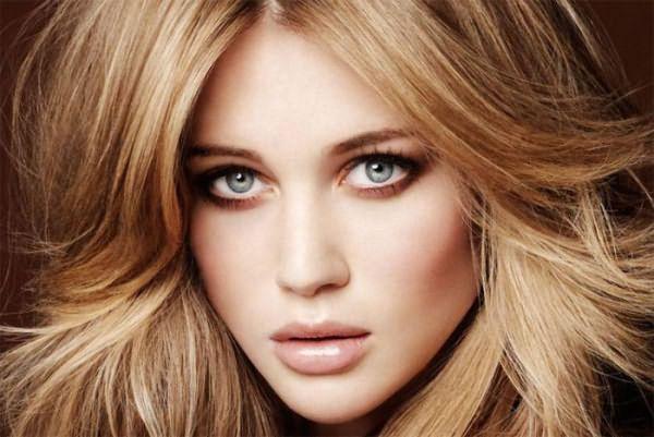Венецианский блонд, являющийся светлым вариантом рыжего цвета