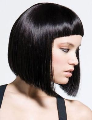 челка 2014 на средние волосы