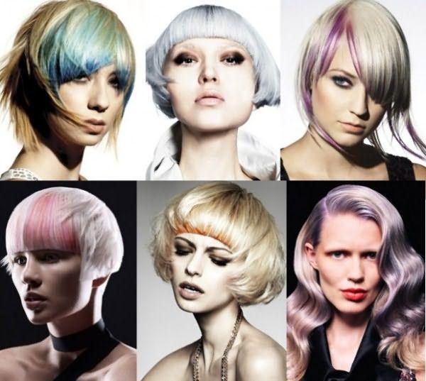 Цветной блик по краю - эффектный модный прием