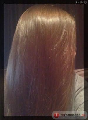 Волосы при обычном свете