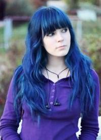 тоник для волос синего цвета 4