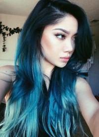 тоник для волос синего цвета 3
