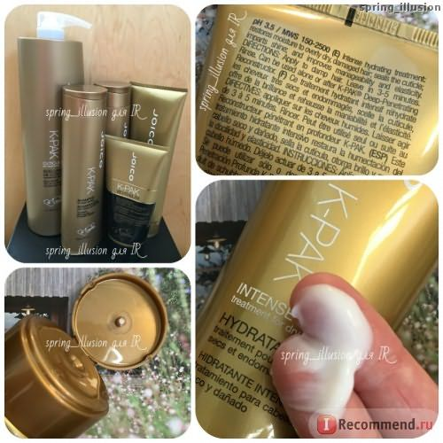 Маска для волос JOICO K-Pak Intense Hydrator Treatment for Dry, Damaged Hair фото