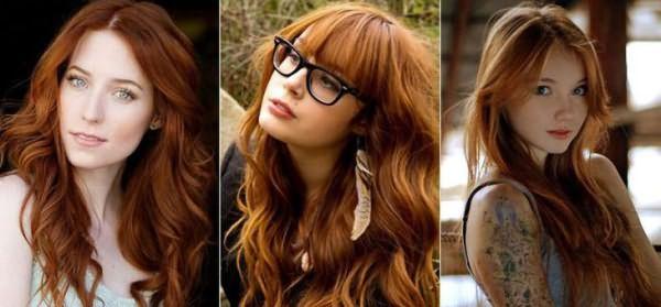Хна для волос для натурального темно рыжего оттенка