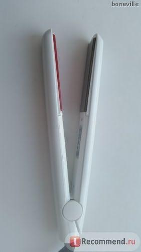 Инфракрасный и ультразвуковой утюжок (Холодные щипцы для лечения волос) Aliexpress NEW Second generation infrared ultrasonic flat iron cold hair straightener фото