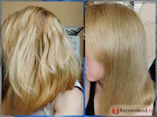Волосы ДО и ПОСЛЕ использования бальзама и шампуня