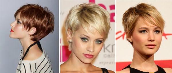 """Стрижка """"пикси"""" для тонких волос"""