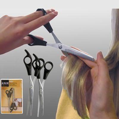 Без хороших ножниц у вас вряд ли получится хорошая стрижка