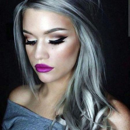 Делая макияж, отказывайтесь от ярких, кричащих и насыщенных цветов