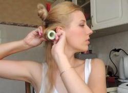 как накрутить волосы на бигуди термо 2