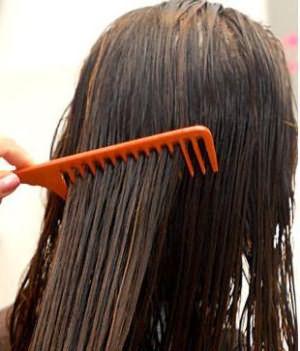как правильно расчесывать мокрые волосы