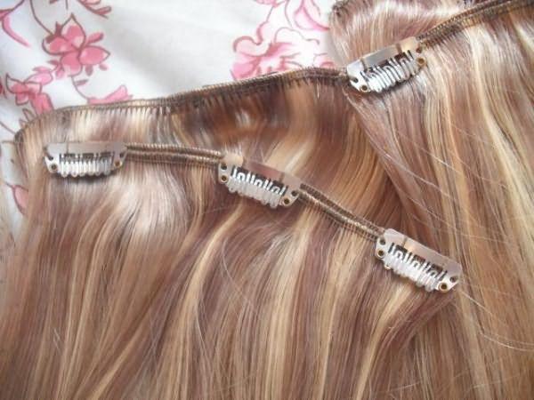 снимем нарощенные волосы