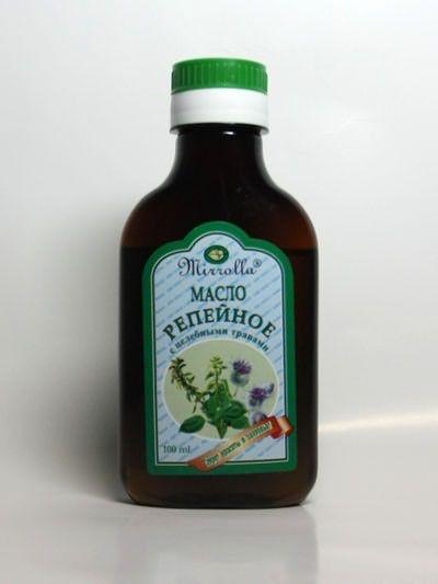 Как втирать репейное масло