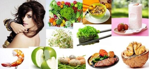 Правильное питание – залог длинной и красивой шевелюры