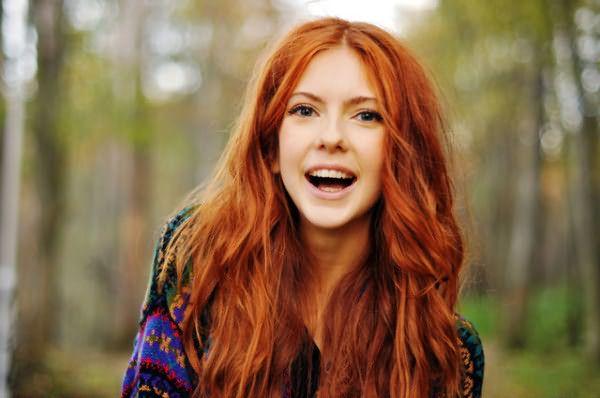 Те, кого природа наделила рыжим цветом волос, часто немного упрямые, эксцентричные и позитивно настроенные люди.