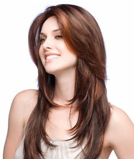 виды стрижки каскад на длинные волосы