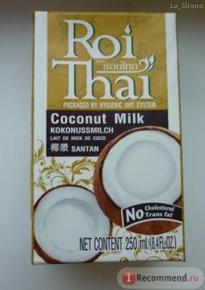 Кокосовое молоко Roi Thai Coconut Milk фото