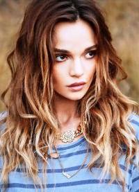 модное окрашивание 2016 на средние волосы 2