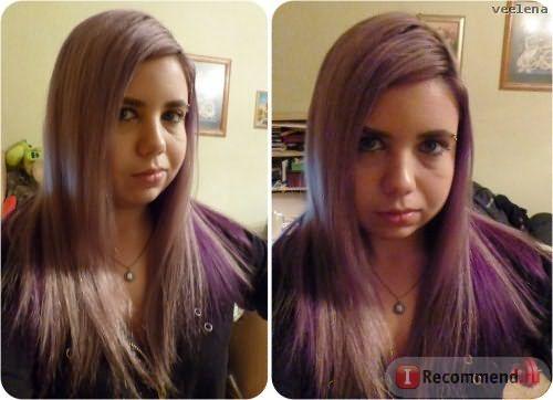 Общий вид волос