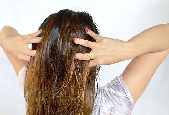 быстрая маска для волос в домашних условиях