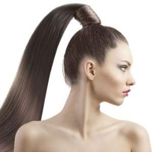 Слишком тугой хвост может привести к проблемам с кровоснабжением кожи головы