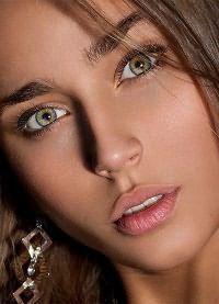 макияж для зеленых глаз и русых волос 7