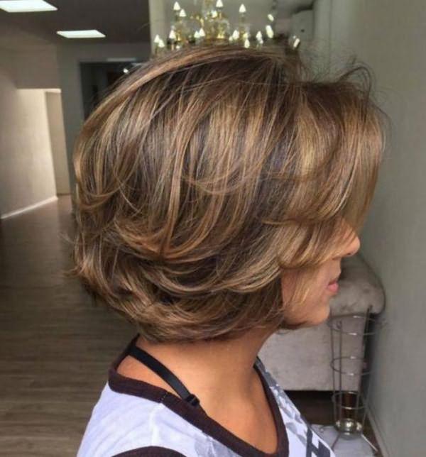 модные покраски на средние волосы