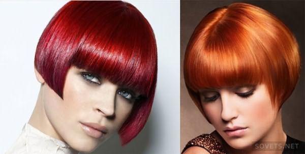 фото: стрижки на короткие волосы с текстурированной челкой