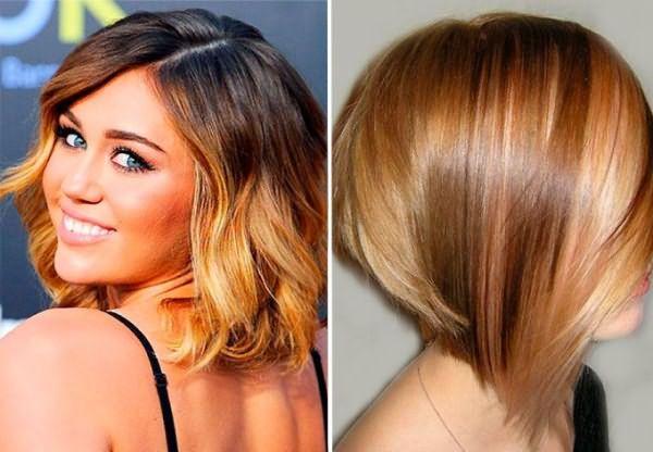 Шатуш для русых волос