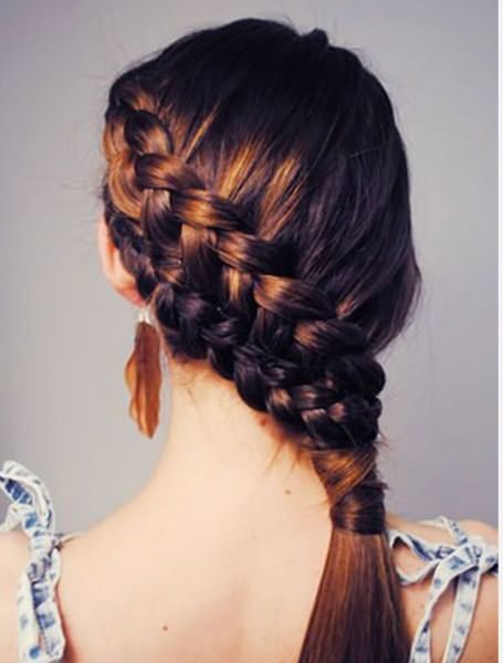 Красиво заплетенная коса