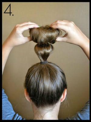 Прокручивание валика с волосами