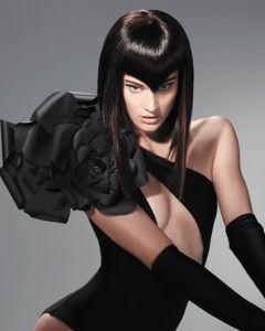 прическа каре из длинных волос