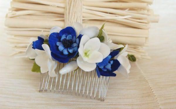 Современные аксессуары для волос создают на основе квиллинга и конзаши