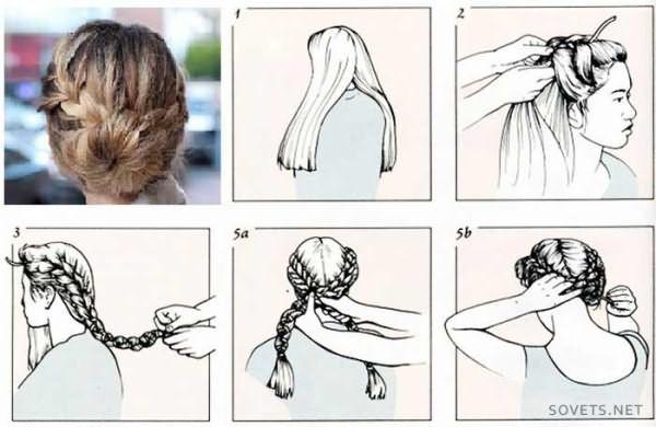 Как делать прическу на длинные волосы